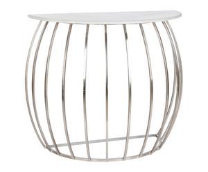"Konzolový stolík ""Marble"", 45 x 90 x 77 cm"