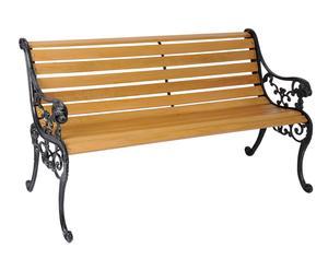 """Záhradná lavička """"Soria"""", 124 cm"""