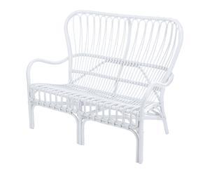 """Záhradná lavička """"Cuenca White"""", 100 x 82 x 122 cm"""