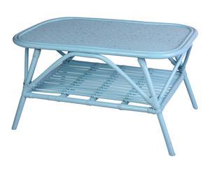 "Stôl ""Coria Turquoise"", 50 x 80 x 45 cm"