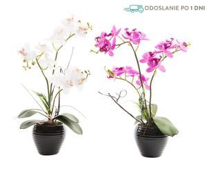 """Sada 2 kvetinových dekorácií """"Lucio"""", ø 10, výš. 38 cm"""