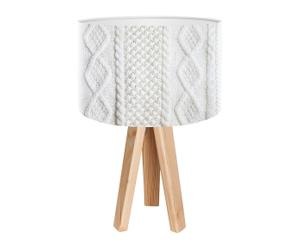 """Stolová lampa """"Josefina Natural"""", ø 30 cm"""