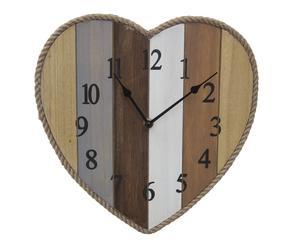 "Nástenné hodiny ""Isidoro II"", 29,5 x 29,5 x 3,5 cm"