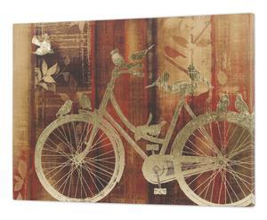 """Nástenná dekorácia """"Bike"""", 3 x 80 x 60 cm"""