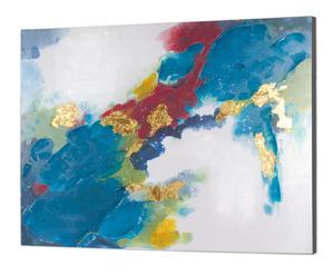 "Nástenná dekorácia ""Abstract II"", 2,5 x 120 x 90 cm"