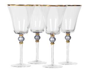 """Sada 4 pohárikov """"Martine"""", 22,5 cm"""