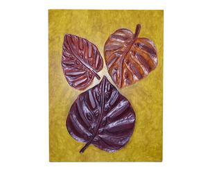 """Nástenná dekorácia """"Leaf"""", 5 x 60 x 80 cm"""