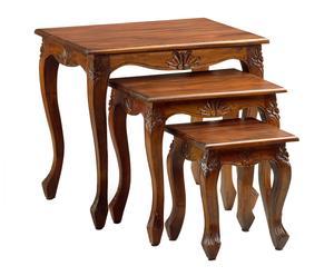 """Sada 3 stolíkov """"Vintage"""""""