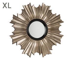 "Nástenné zrkadlo ""Greco Gold"", Ø 107 x 7 cm"