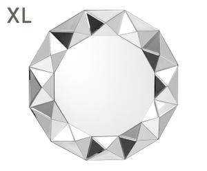 "Nástenné zrkadlo ""Beccles"", Ø 80 x 6 cm"