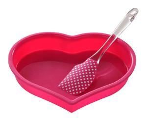 """Forma na pečenie so stierkou """"Heart"""""""