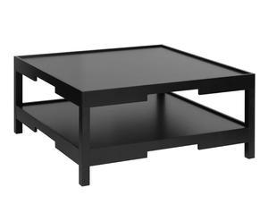 """Konferenčný stolík """"Osaka Black"""", 100 x 100 x 45 cm"""