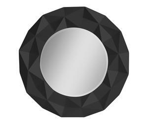 """Nástenné zrkadlo """"Fillip Black"""", ø 78 x 6 cm"""