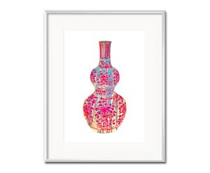 """Nástenná dekorácia """"Oriental V"""", 21 x 26 cm"""