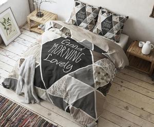 "Posteľná bielizeň ""Crazy Morning Taupe"", 140 x 220 cm"