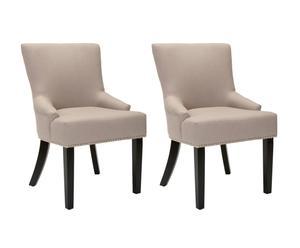 """Sada 2 stoličiek """"Sawyer"""", 64 x 55 x 87 cm"""