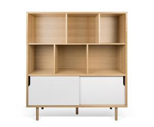 """Kredenc """"Dann Oak-White"""", 45 x 135 x 152 cm"""