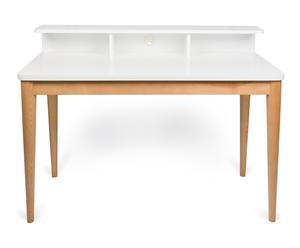 """Písací stôl """"Xira White-Oak"""", 60 x 120 x 90 cm"""