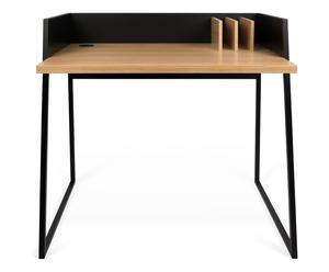 """Písací stôl """"Volga Black-Oak"""", 60 x 90 x 88 cm"""