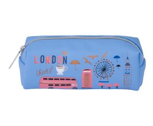 "Kozmetická taška ""London"", 7 x 20 x 6 cm"