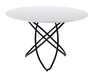 "Konferenčný stolík ""Hula Hoop White"", ø 120, výš. 76 cm"