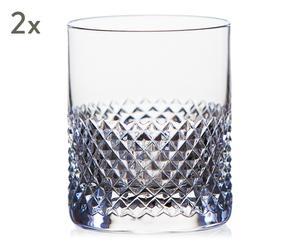 """Sada 2 pohárikov na whisky """"Elise"""", obj. 300 ml"""