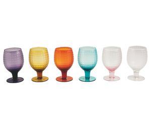 """Sada 6 pohárov na víno """"Karma"""", ø 8, výš. 15 cm"""