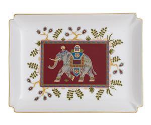 "Dekoratívny tanier ""Samarkand Rubin Gifts"", 13 x 17 cm"