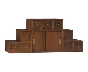 "Poschodová skrinka ""Escalara"", 120 x 30 x 60 cm"