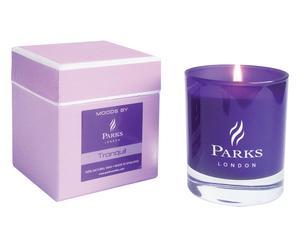 "Vonná sviečka ""Tranquill Purple"", Ø 8, výš. 9 cm"