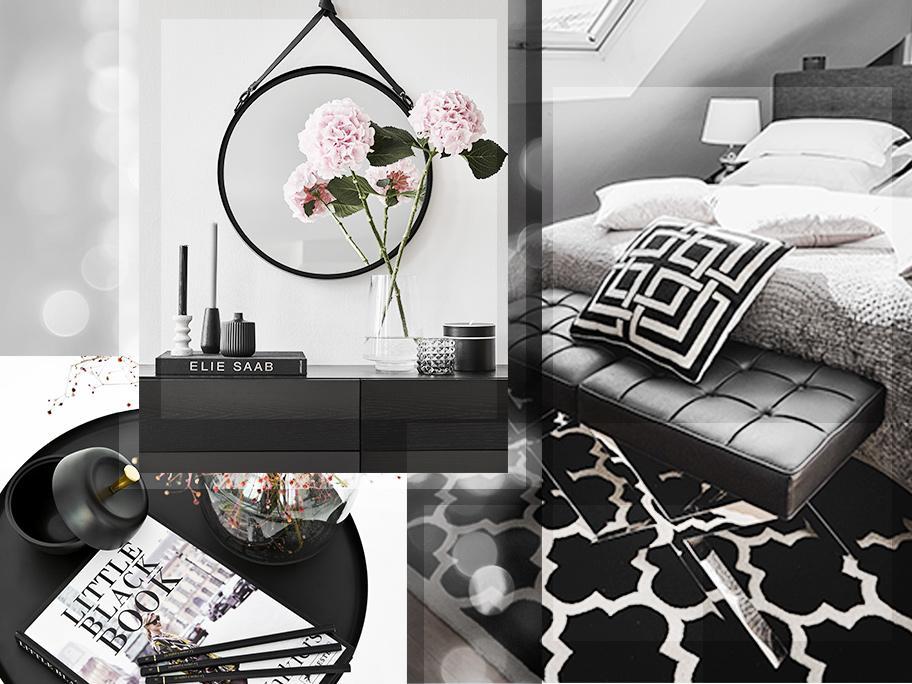 Stylish Black Bedroom