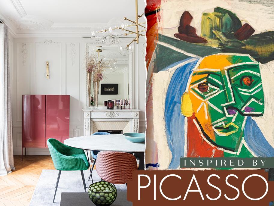Mit Formen spielen wie Picasso
