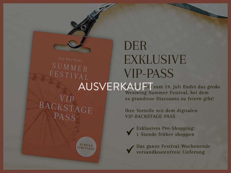 Der VIP-Backstage-Pass
