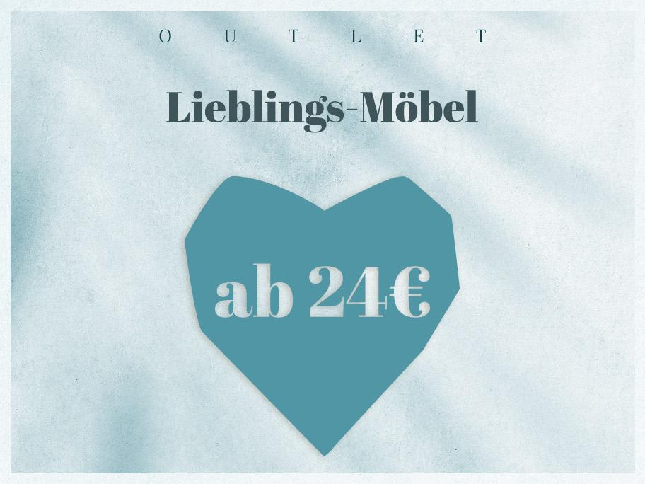 Möbel-Outlet ab 24 €