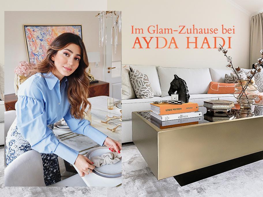 Ayda Hadi heißt uns willkommen
