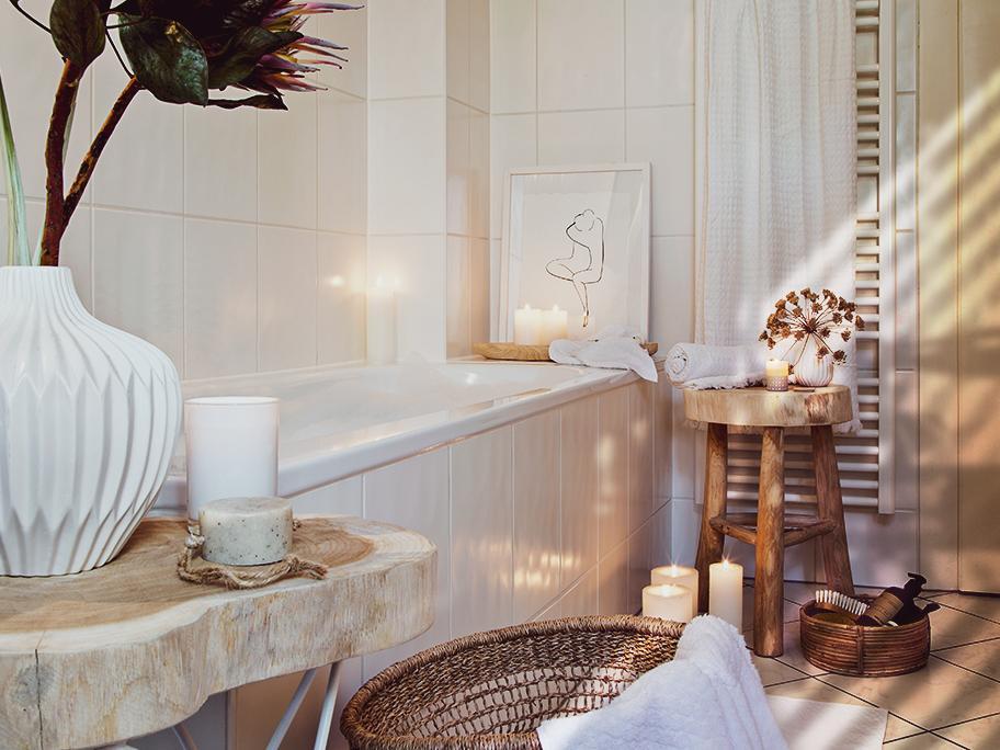 Relaxen im Home-Spa