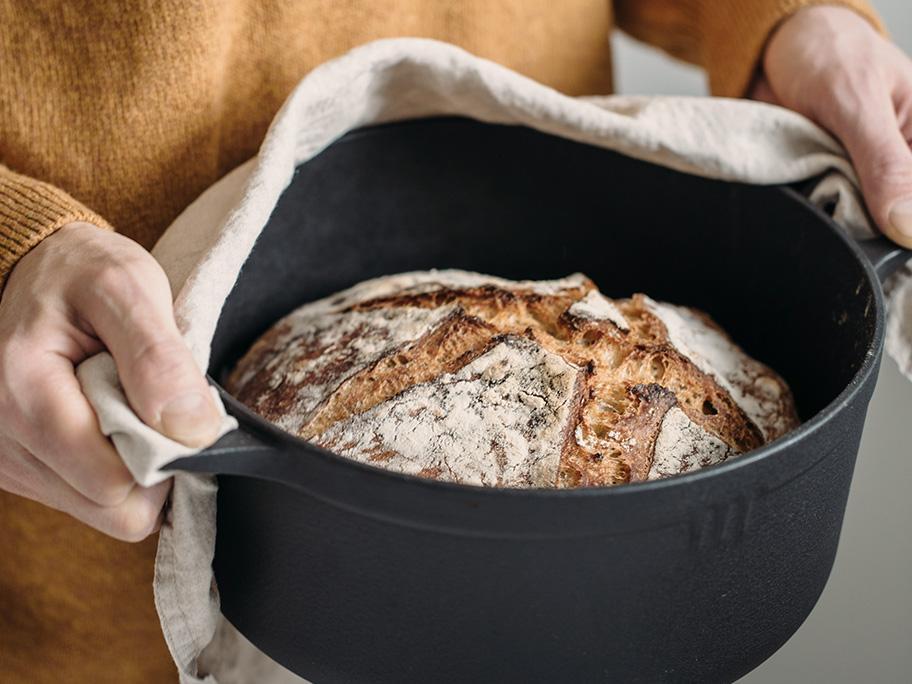Hier zien we brood in