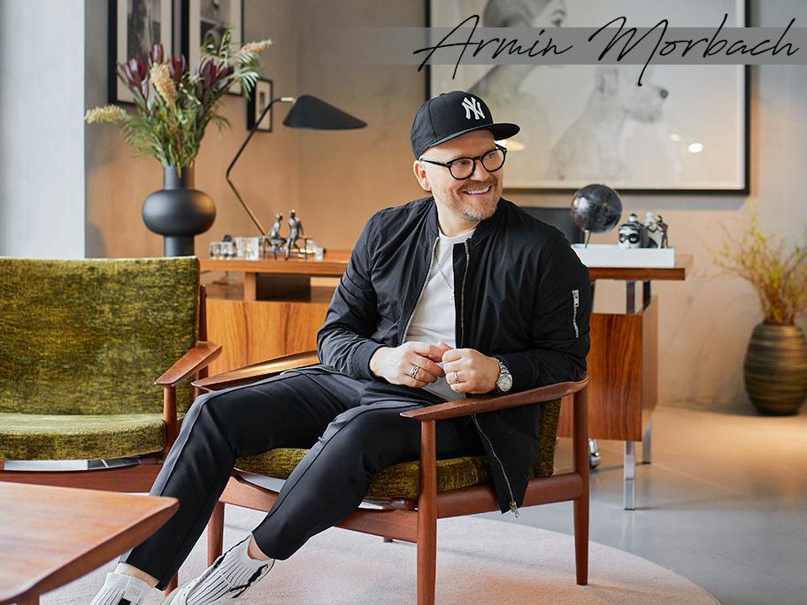 Chez l'artiste Armin Morbach