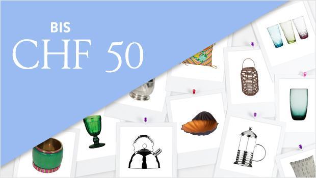 Alle Produkte bis CHF 50