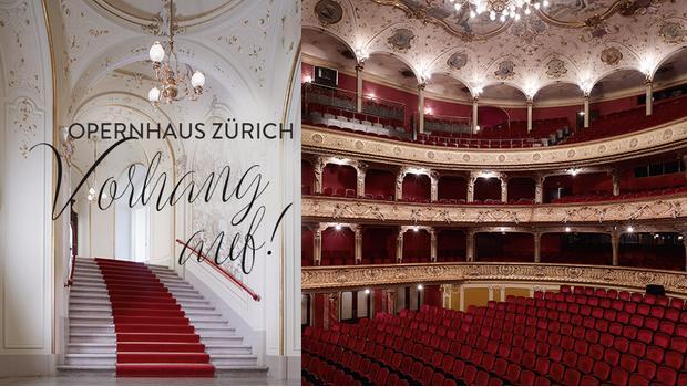 Zu Besuch im Opernhaus Zürich