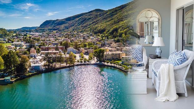 Blaues Wunder von Lugano