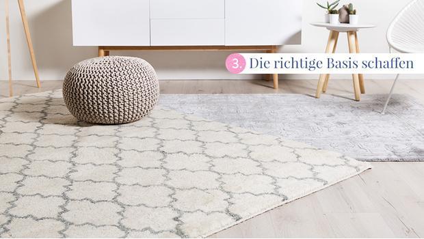 Das Center Piece: Teppich