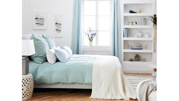 Bettwäsche aus reinem Leinen