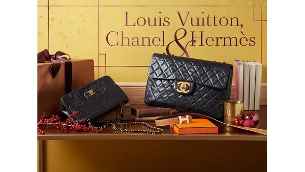 Chanel, Hermès & Louis Vuitton