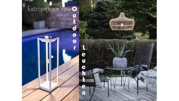 Die schönsten Outdoor-Leuchten