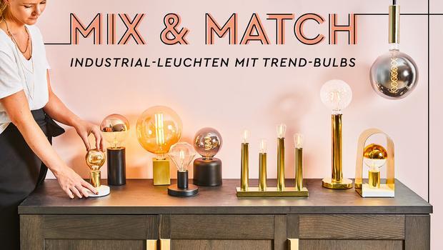 Mix & Match mit Retro-Bulbs