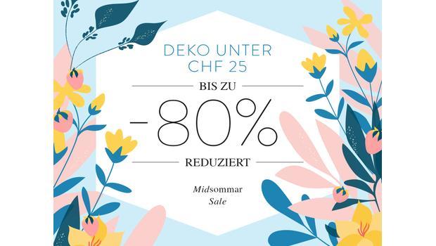 Deko unter CHF 25