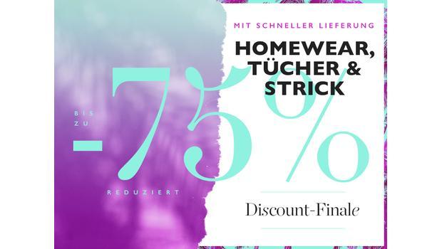 Homewear, Tücher & Strick