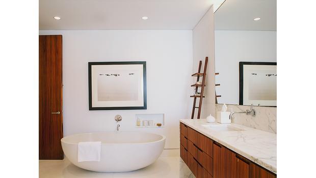 Minimalismus fürs Badezimmer