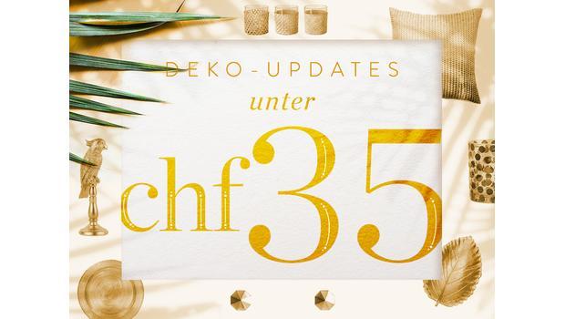 Deko-Updates unter CHF 35